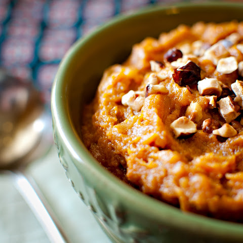 ROOT BEER BRAISED SWEET POTATO MASH