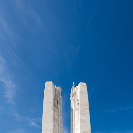 Canadian National Vimy Memorial by Wim De Koster - Buildings & Architecture Statues & Monuments ( world war, vimy, building, memorial, canada, wwi, france, first world war, momument, candaian )