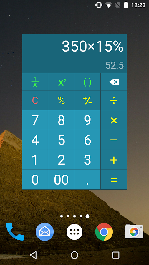 Multi Calculator Screenshot 1
