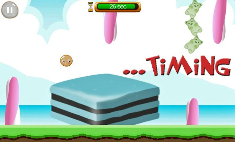 android Candy Bounce Screenshot 2