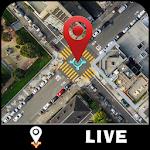 GPS Live Map & Street View – Satellite Navigator Icon
