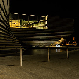 V and A Dundee by Iain Cathro - Buildings & Architecture Other Exteriors ( v&a, museum, rrs discovery, dundee, scotland )