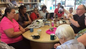 Dementia Friends join together for a cuppa
