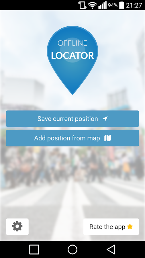 Offline Locator PRO Screenshot