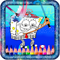 Coloring Game For Spongebobby APK for Bluestacks