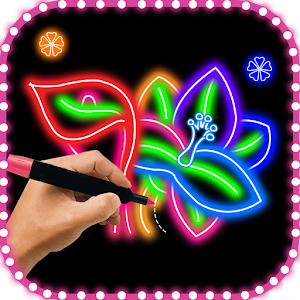 Download Flower Glow Draw For PC Windows and Mac