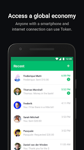 Token screenshot for Android