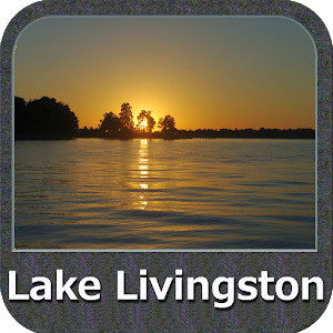 Lake Livingston Texas GPS Map For PC