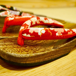 just geta by Mary Yeo - Artistic Objects Still Life ( japanese wooden sandals )