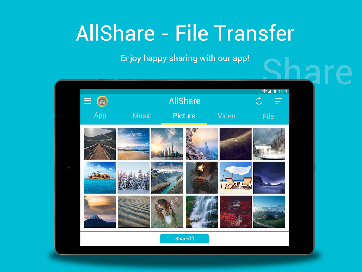 All Share - Apps&File Transfer Screenshot 5
