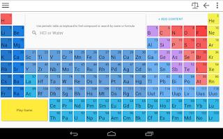 Screenshot of Chemik PRO Cool Chemistry Tool