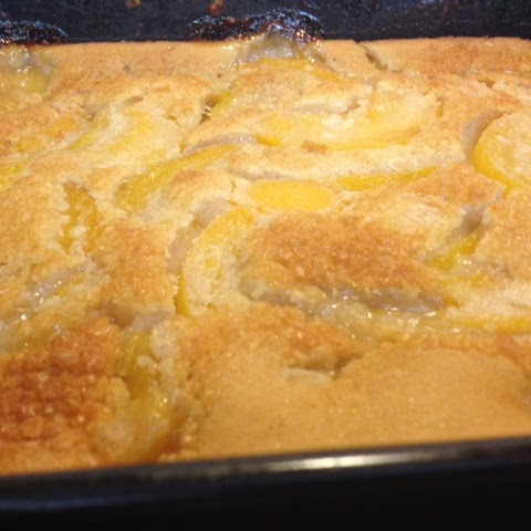 Soul Food Peach Cobbler