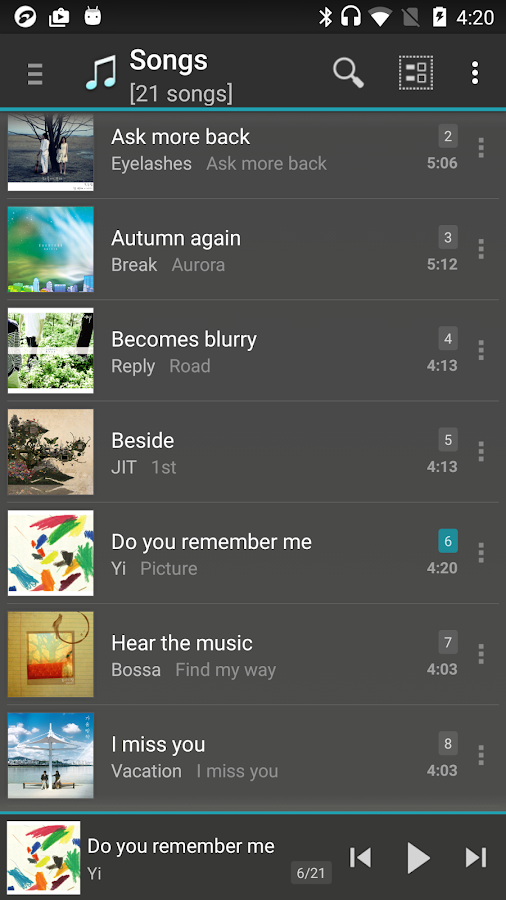 jetAudio HD Music Player Plus Screenshot 0