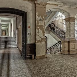 Viltuz castle by Andrej Topolovec - Buildings & Architecture Decaying & Abandoned ( building, buildings, castle, architecture, abandoned )