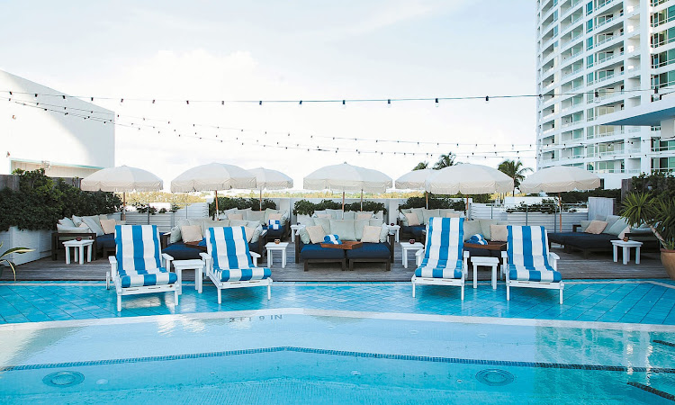 Soho House pool