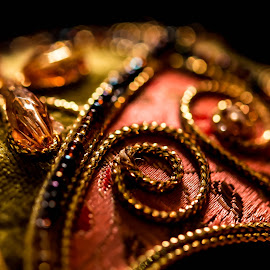 Arabic Art Object by Amr Younis - Abstract Macro ( abstract, arabic art, dubai, macro photography, close up )