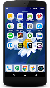 OS 10 Launcher QHD Screenshot