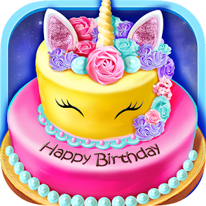 Birthday Cake Design Party - Bake, Decorate & Eat! For PC