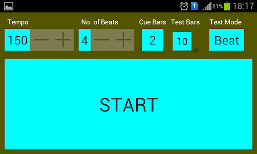 Steady Tempo Tester - screenshot