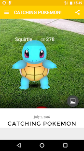 Tips Pokémon Go new - screenshot