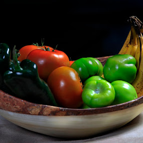 Fruits and vegetables by Cristobal Garciaferro Rubio - Food & Drink Ingredients ( bananas, fruits, vegetables, tomatoes )