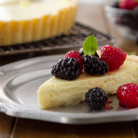 Cheesecake Tart with Fresh Berries