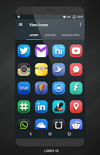 Lumix UI - Icon Pack- screenshot thumbnail