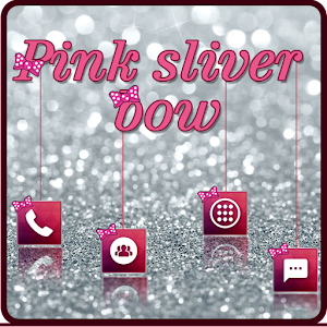 Pink Sliver Diamond Theme For PC