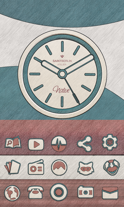 Native Icon Pack Natural Art Screenshot 5