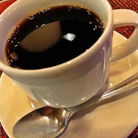 Morning Fuel by Koenraad De Roo - Food & Drink Alcohol & Drinks ( mug, cup, coffee, cup of joe, morning, diner )