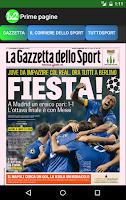 Screenshot of We bet! (Italy version)