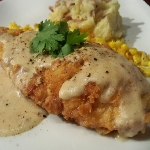 Slow Cooker Chicken Breasts with Creamy Gravy