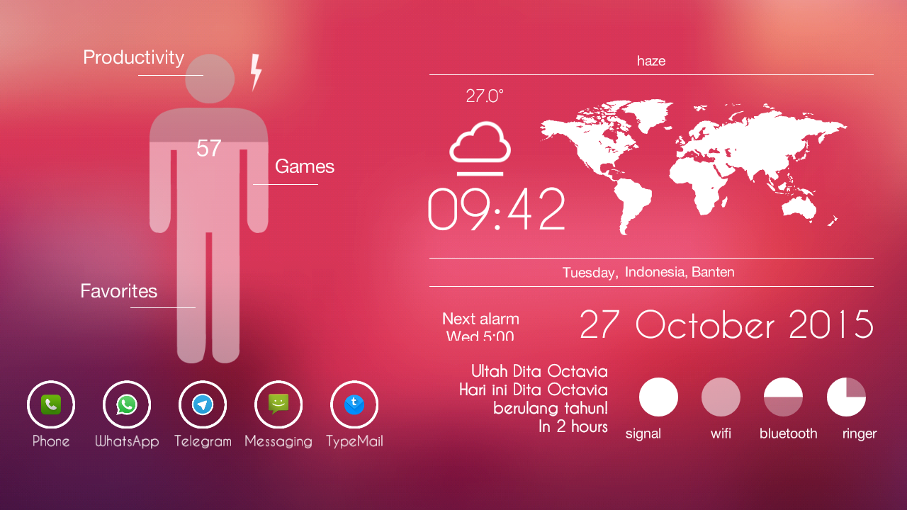 Glassy2 Theme Screenshot 2