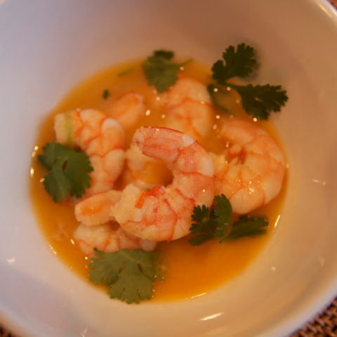 Shrimp in Coconut Broth