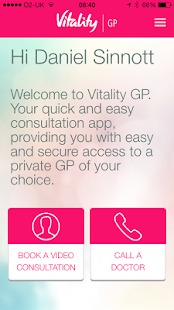 Vitality GP screenshot for Android