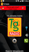Screenshot of Telangana Radio