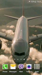 Aircrafts Video Live Wallpaper- screenshot thumbnail