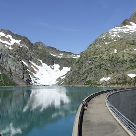 by Serguei Ouklonski - Landscapes Mountains & Hills ( water, mountain, ticino, cevio, lake, travel, landscape )