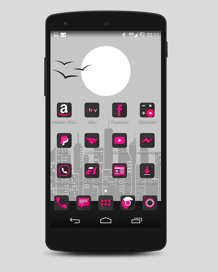Fuxia - Icon pack Screenshot 2