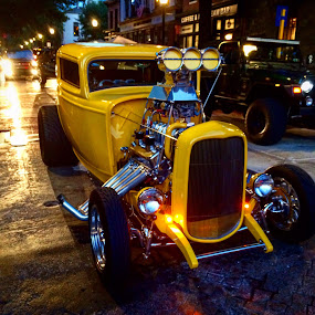 Yellow Fury by Solomen Flewellen - Transportation Automobiles