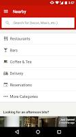 Screenshot of Yelp