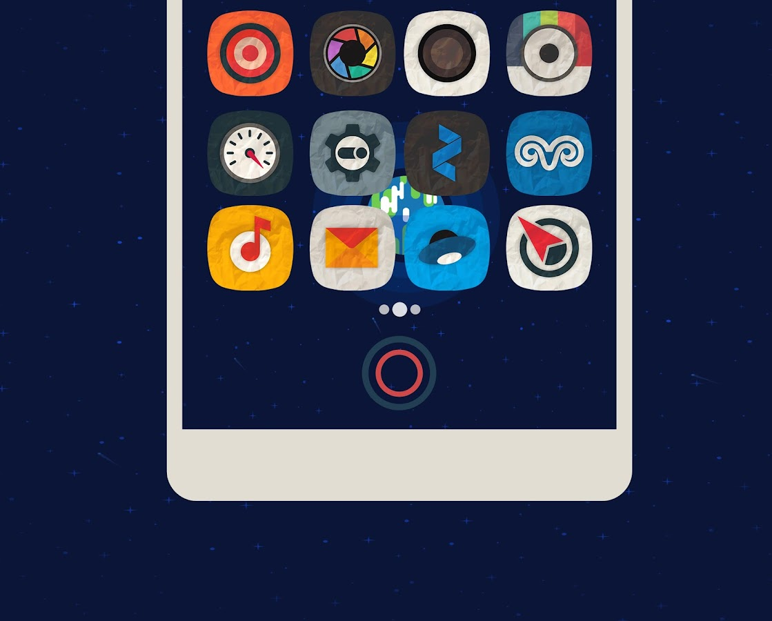 Rugos Premium - Icon Pack Screenshot 1