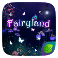Fairy Land GO Keyboard Theme APK for Bluestacks