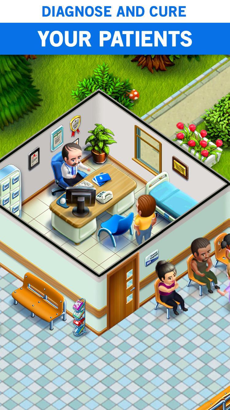 My Hospital: Build and Manage Screenshot 1