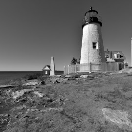 Pemaquid light by Joe Fazio - Buildings & Architecture Public & Historical