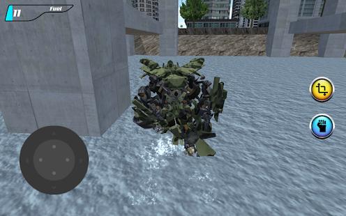 X Robot Helicopter apk screenshot