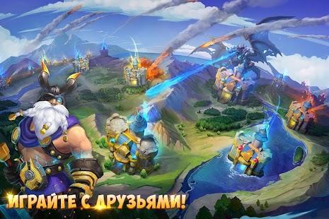 Castle Clash: Юбилейная посиделки – Miniaturansicht des Screenshots