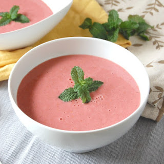 Strawberry Gazpacho