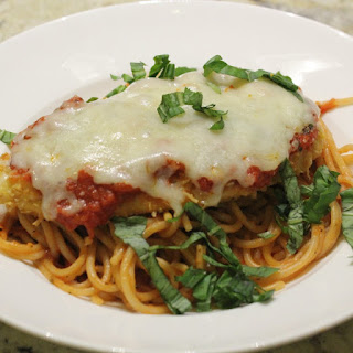 Low-FODMAP and Gluten Free Chicken Parmesan