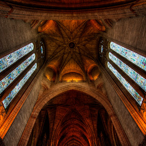 art by Gokhan Bayraktar - Buildings & Architecture Places of Worship ( anglican cathedral, pwcabstractdiamonds )